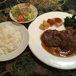 ロビンソン - 料理写真:ステーキセット