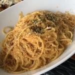 カフェ&ピッツァレストラン スターダストガーデン - ウニたっぷりの贅沢なスパゲッティ