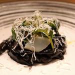 ARMONICO - ストロッツァプレーティ 墨烏賊の墨煮ソース