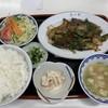 来々軒 - 料理写真:本日の日替り レバニラ定食