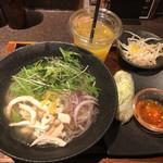 米麺食堂 - スタンダードセット@1,080円