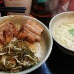 101401296 - ラフテー丼セット¥980