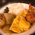 鴻盛園 - 唐揚げ・八宝菜・玉子焼き