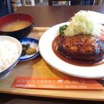 三福亭 - ハンバーグ定食S