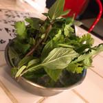 チルアウト - ハーブ野菜 (サービス