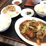 101411636 - 回鍋肉定食 700yen