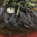 食堂 大江山 - ●鬼そば756円税込 (山菜の入った温かいおそばです。)