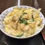 食堂 大江山 - ●親子丼500円税込味噌汁付