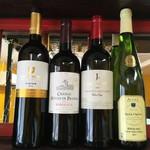 ジャンク フード コーベ - 各種ワインもござます。い一律1730円!