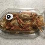 橋立大丸本店 ショップ - いわしの明太子 魚骨せんべい