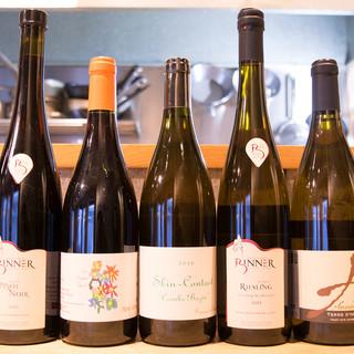 無農薬の自然派ワインからこだわりの地酒までご用意!