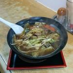 らーめん 天晴亭 - 料理写真:野菜ラーメン(今日は600円・通常650円)