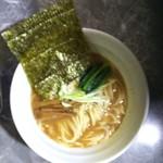 製麺rabo - 料理写真:らーめん(濃厚魚介)。ボケボケでごめんなさい(--;)