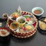 松葉寿司 - 花かご御膳