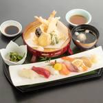 松葉寿司 - すし天ぷら御膳
