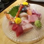 ROKU KANDA - 「刺身の盛り合わせ 2人前 (2800円)」