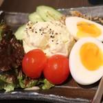 錦わらい - ポテトサラダ