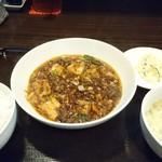 101423359 - 麻婆豆腐定食