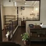 玄米生活 - 店内カウンター席