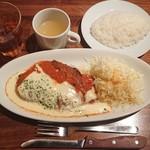 冨田書店 - 冨田風ミラノカツレツ¥880-