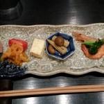 りとりーと - ランチ 前菜六種