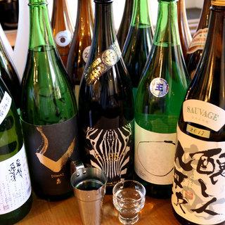 地酒をはじめとした『全国のおいしい日本酒集めました。』