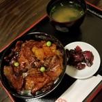 帯広豚丼 ポルコ - 帯広タレ豚丼(梅) 750円