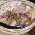 八福神 - 肉豆腐すき焼