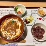 麺喰 - ビーフシチューうどんセット