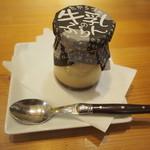 たからづか牛乳 - プリン(スプーンがラギュオール)