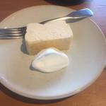 エンバンクメントコーヒー - シナモンチーズケーキ