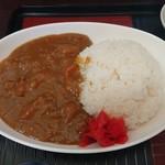 家庭料理 味楽 - カレーライス(カレー定食)