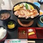 道の駅 貞光ゆうゆう館 - 阿波尾鶏をいただきます