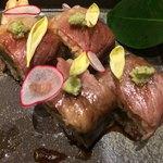 101432777 - 近江牛のロール寿司