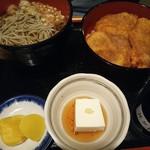 101433090 - タレかつ丼定食