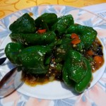 中華料理 李香 - ピーマン炒め