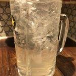ハナドラ - レモンサワー(おやじ会員特典でサイズアップ)