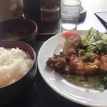 TAMAMIYA - 油淋鶏定食
