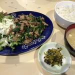 五郎八 - スタミナ定食1100円