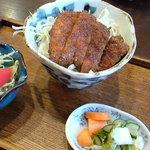 松屋そば店 - ミニカツ丼