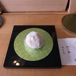 タケノとおはぎ - 雪の和三盆