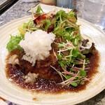 泉 - ハンバーグ定食