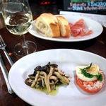 イル・バーカロ - 注文したお料理とワイン