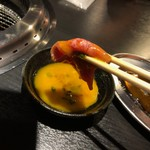 101458201 - ロースの炙り玉子タレ