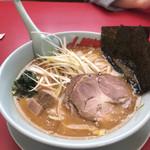 ラーメン山岡家 - 料理写真:特製味噌ねぎらーめん¥840 JAF特典チャーシュー2枚増し