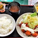 みなと食堂 - 料理写真:チキン南蛮 750円