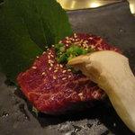 炭火焼肉 白山 - ヒレ