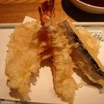 天ぷら新宿つな八 新宿高島屋店 - 菜菜膳の天麩羅1