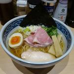 寿製麺 よしかわ - 料理写真:「煮干しそば 白醤油」