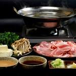 黒豚屋 らむちぃ - 料理写真:豚しゃぶ
